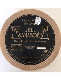 El Sanabres sheep cured cheese 3,4kg.