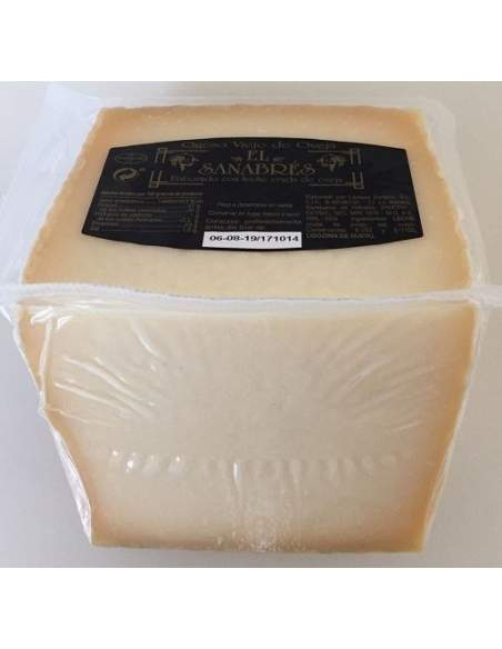 El Sanabres sheep cured cheese 0,8kg.