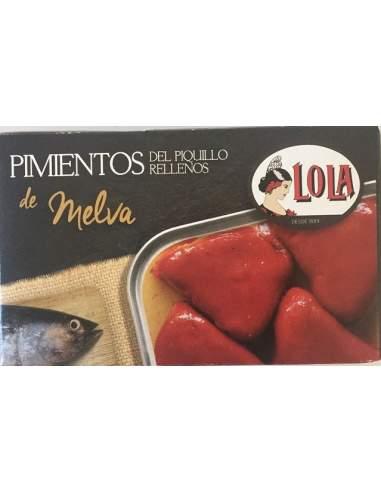 Pimientos del piquillo rellenos de melva Lola