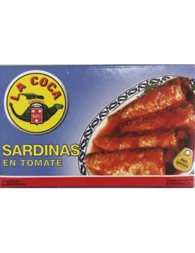 Sardinas con tomate RR-125 La Coca