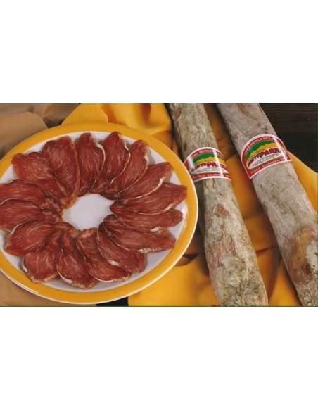 Lomo iberico de campo 1/2 caña Monteparra Guijuelo 0,75 Kg.