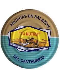 Kantabrische Sardellen beim Salzen La Nutria RO-1400
