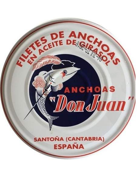 La Castreña Cantabrian anchovy fillets 80 gr.
