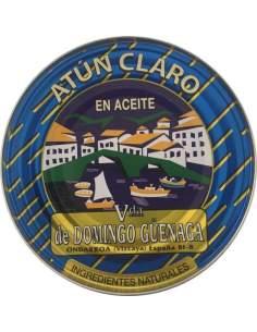 Atún claro tronco Viuda de Domingo Güenaga 101g esc.