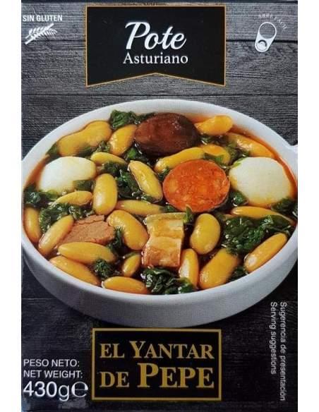 Yantar de Pepe Pote Asturiano ready meals