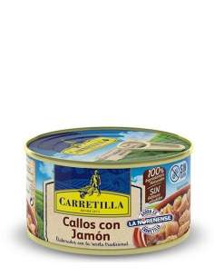 Carretilla tripe Ham 1 serving of 380g.