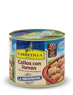 Carretilla tripe Ham 2 serving, 630 g.