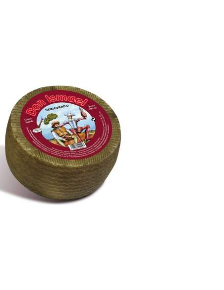 Don Ismael sheep cow goat semi-cured cheese 3 kg.