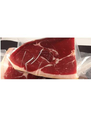 Eresma serrano ham Reserve Duroc boneless of 9-10 kg. vacuum clean pieces.