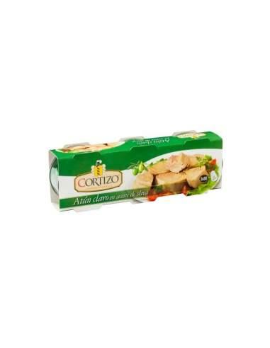 Leichter Thunfisch in Pflanzenöl Packung à 3 Stück Cortizo