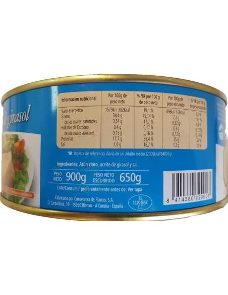 Cortizo Yellowfin Tuna RO-1000 1kg.