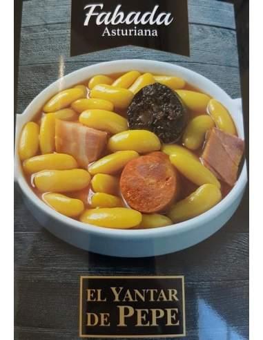 Yantar de Pepe Fabada Asturiana ready meals