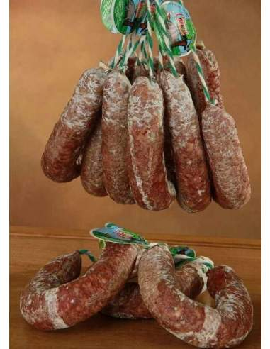 Vassoio di salchichón extra casalingo di 3 kg. di Cruz.