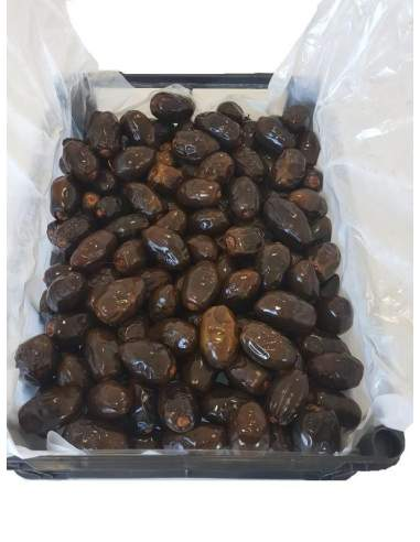 Fresh dates of Elche superior quality fat Medjoul container 2000 g.