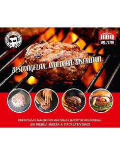 100% Angus frozen burger 170 grams