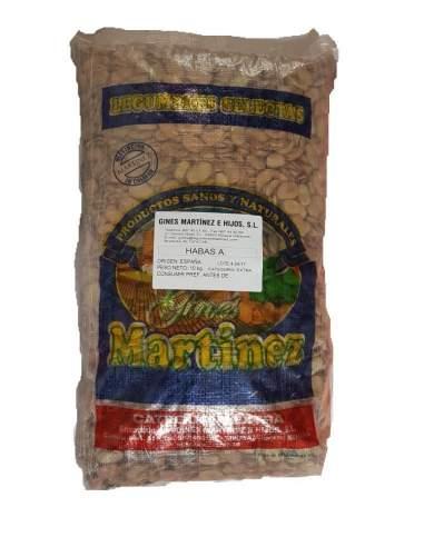Haricots secs extra spéciaux pour Michirones sac de 10 kg. Gines Martínez