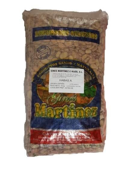 Habas secas extra especial para Michirones saco de 10 kg. Gines Martínez