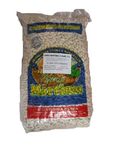 Faba supplémentaire pour faire asturien fabada le sac de 10 kg. Gines Martínez