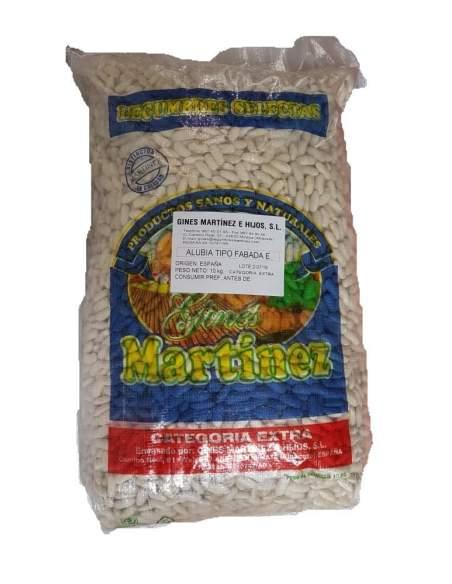 Faba extra para fazer saco fabada asturiano de 10 kg. Gines Martínez