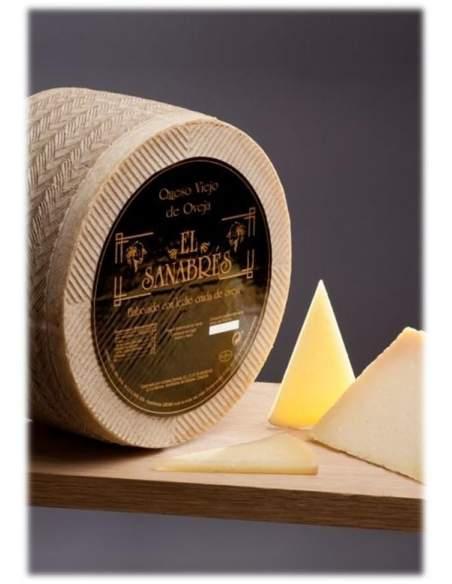 El Sanabres sheep cured cheese 3,4kg.