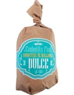 Sobrasada Bolles Dulce Mallorca Montuiri 450 g.aprox