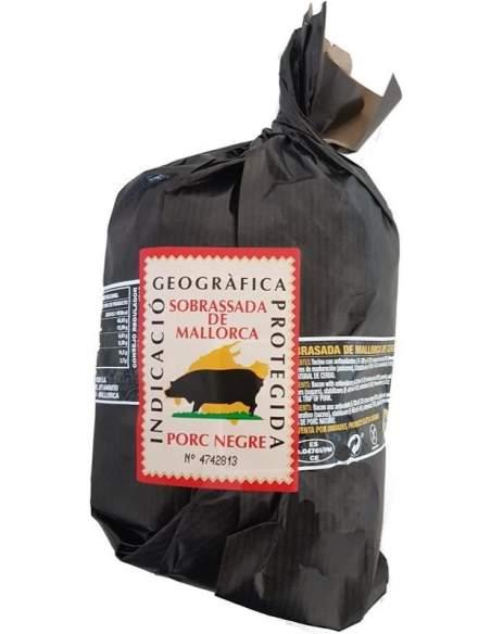 Montiuri black pig Sobrassada rope 400 g.