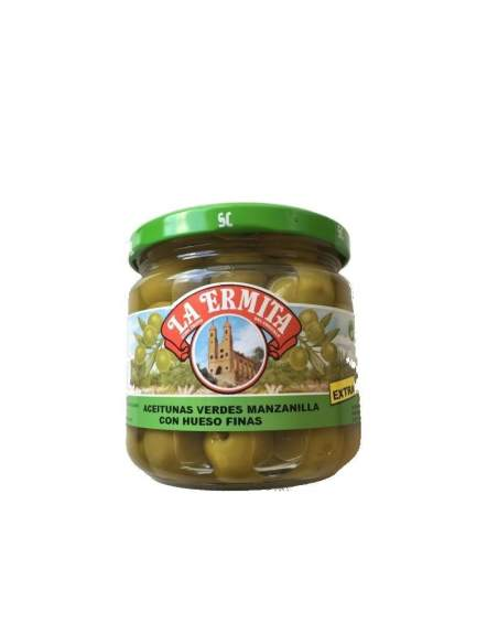 Cieza Olives 160/180 caliber glass jar 200 gr.