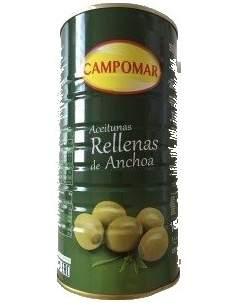 Gefüllte riesige Oliven Dose von 2 kg. von Campomar