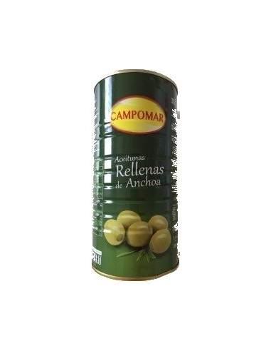 Latta di olive giganti farcite da 2 kg. di Campomar