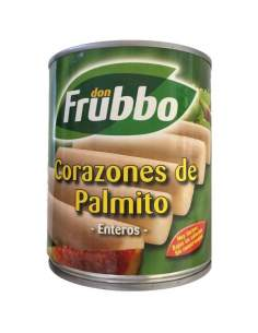 Lata natural de palmetto Frubbo de 1 kg.