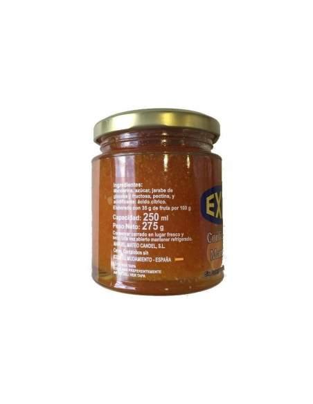 Éxito tangerine jam glass jar 275 gr.