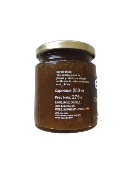 Exito fig jam glss jar 275 gr.