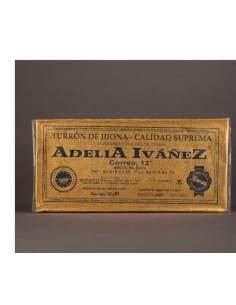 Turrón de Jijona de 200 g. de Adelia Ivañez calidad suprema