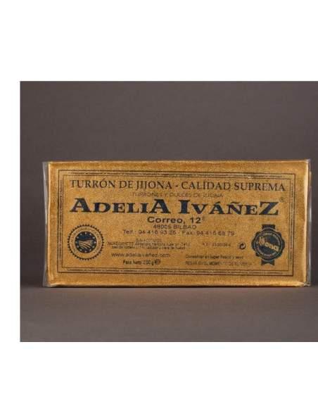 Torrone di Jijona di 200 g. di Adelia Ivañez qualità suprema