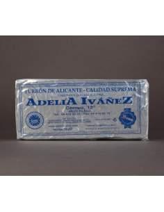 Turron duro di Alicante di 200 g. di Adelia Ivañez qualità suprema