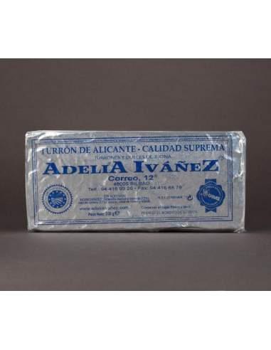 Turron duro de Alicante de 200 g. de Adelia Ivañez calidad suprema