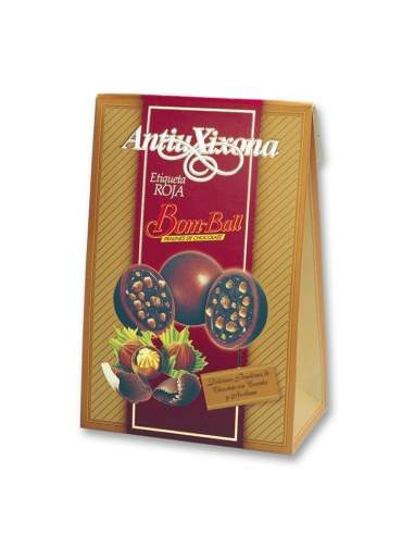 Antiu Xixona Bom-Ball chocolates 150 G.