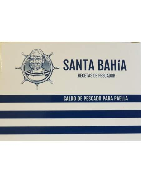 Santa Bahia tin fish broth 425ml