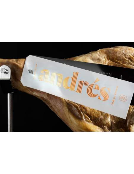 Autore del prosciutto Andres Izquierdo selezione 25 mesi di stagionato 9-10 kg.