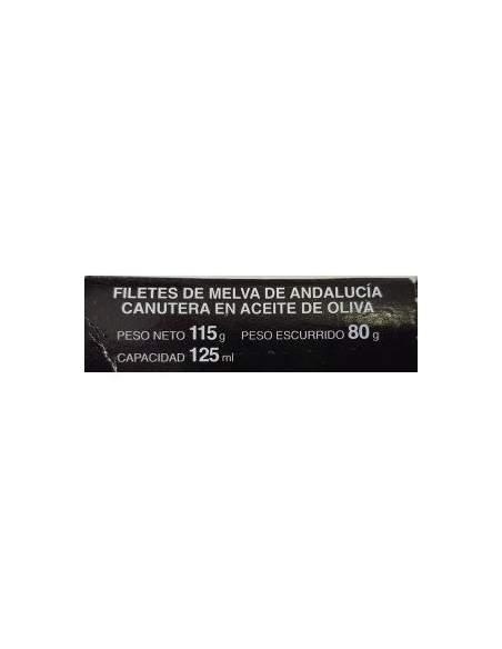 Canutera melva del sur RR-125 lola mit Olivenöl.