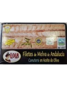 Canutera melva del sur RR-125 lola avec de l'huile d'olive.