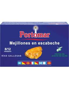 Portomar pickled mussels...
