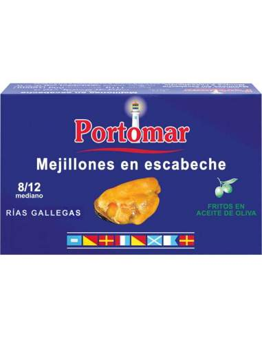 Portomar pickled mussels from the...
