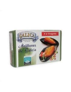 Mexilhões galegos em molho...