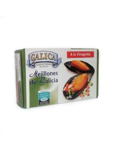 Moules galiciennes en sauce vinaigrette