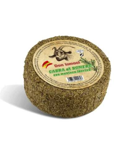 Cured rosemary goat cheese with...