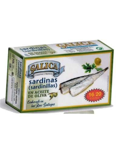 Galica small sardines in olive oil...