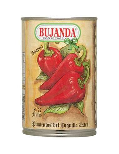 Bujanda Extra Piquillo Peppers 1/2...