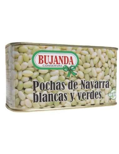 Pochas de Navarra blancas y verdes Bujanda 2/3 raciones 850 ml.