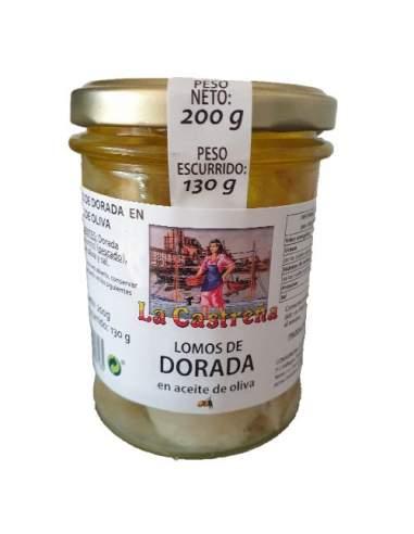 Lomos de dorada en aceite de oliva...